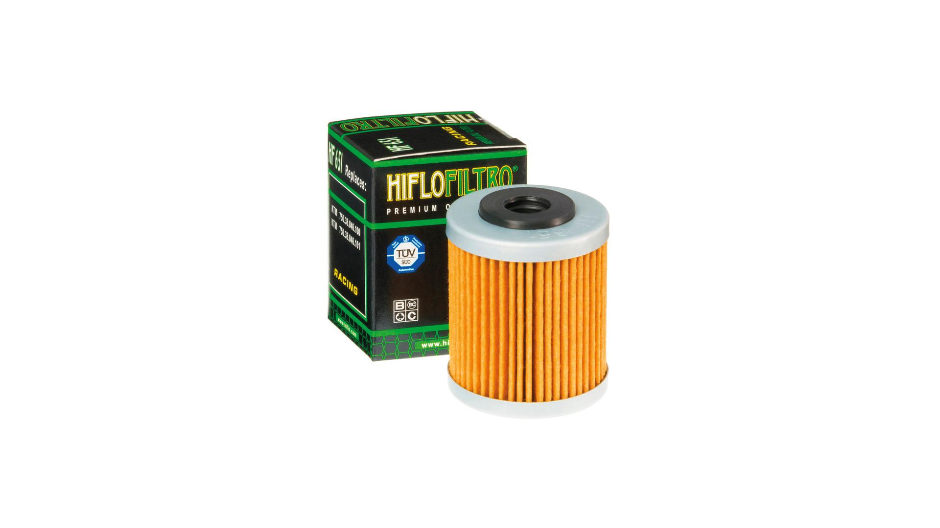 Ölfilter Satz HIFLO HF 155 und HF 651 für KTM 690 Enduro R ab 2012